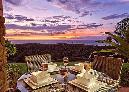 A Majestic Kona Sunset from our Waikoloa Rental - Oceanfrt 2br Condo-Halii Kai 14C- 50% off Spring Special - Waikoloa - rentals