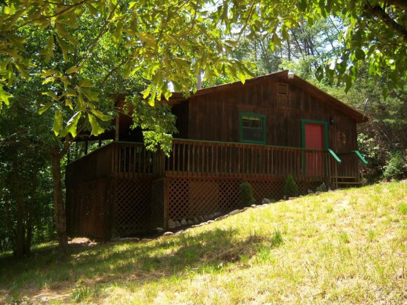 Bear Hooked from Yard - Cozy 2 Bedroom, Private Cabin in the Mountains !! - Gatlinburg - rentals