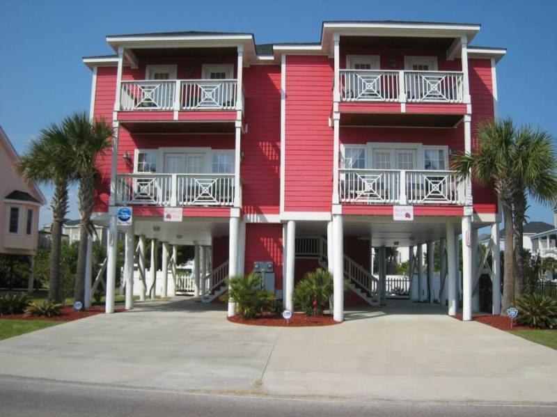 Exterior - Luxury Ocean Vw 5BR/5.5BA House Pool Steps 2 Beach - Garden City Beach - rentals