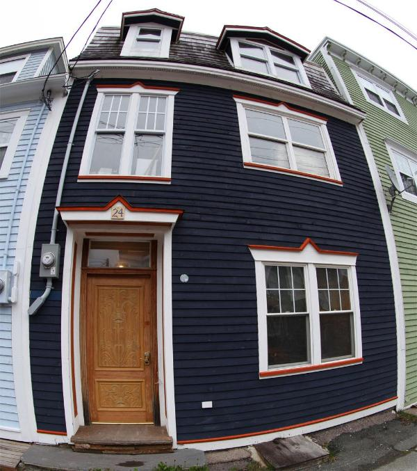 Front of restored home - 3 bedroom LUX central downtown St. John's - Saint John's - rentals