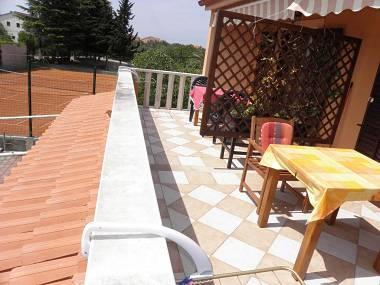SA1(2): terrace - 3981  SA1(2) - Sukosan - Sukosan - rentals