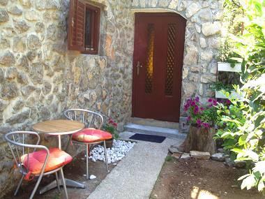 A2(2+1): garden terrace - 2856  A2(2+1) - Lovran - Lovran - rentals