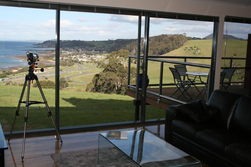 coastral view from the living room - Black Rock Retreat - Burnie - rentals