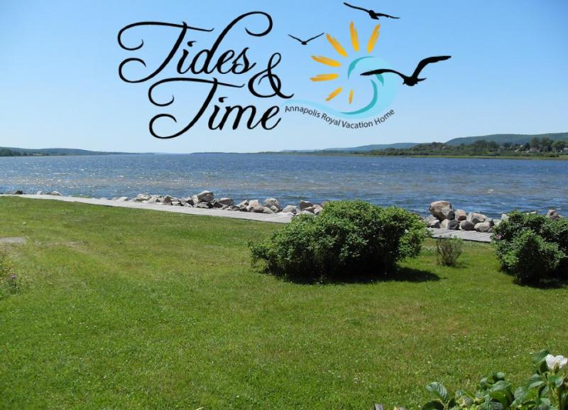 View from Deck - Tides and Time Vacation House - Annapolis Royal - rentals