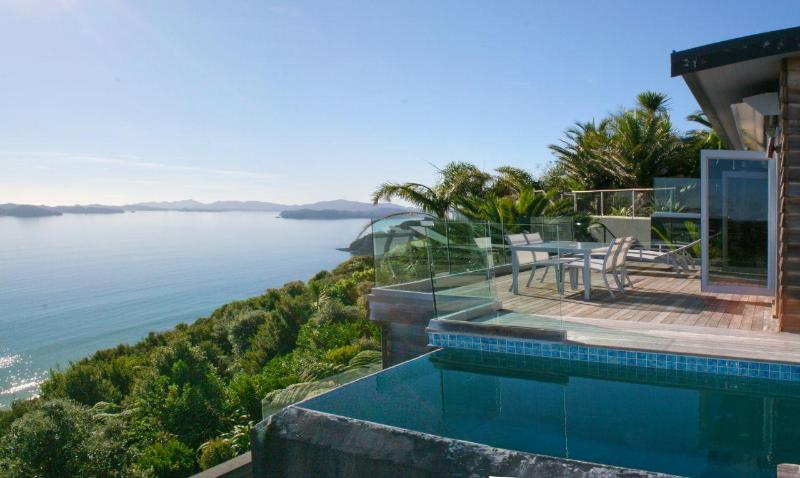 Pool Deck view - Cloud 9 - Luxury villa with breathtaking views - Russell - rentals