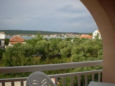 A4(2+2): terrace view - 4163  A4(2+2) - Sukosan - Sukosan - rentals