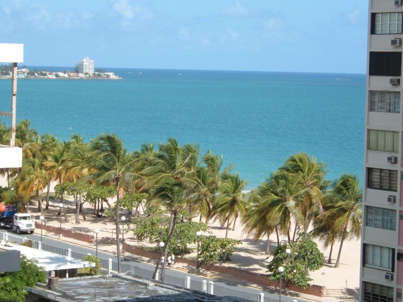 View from balcony - Luxurious Apt w/direct access to Isla Verde beach! - Carolina - rentals