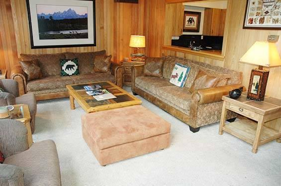 4 bed /4 ba- WIND RIVER #5 - Image 1 - Teton Village - rentals