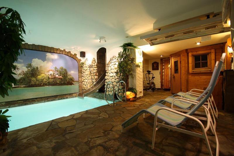 The spa in the souterrain with indoor pool, sauna and sunbed. For you private exclusive use! - (website: hidden) luxury condo privat pool &sauna - Zell (Mosel) - rentals