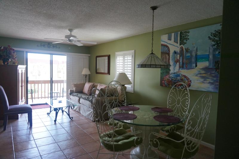 Dining and Living Rooms Area - St. Augustine Beach-Ocean View Furnished 2B Condo - Saint Augustine Beach - rentals