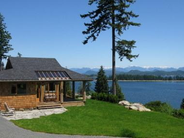 Private, panoramic setting - Luna Vista - Private Cabin for 2 - Quadra Isl., BC - Quadra Island - rentals