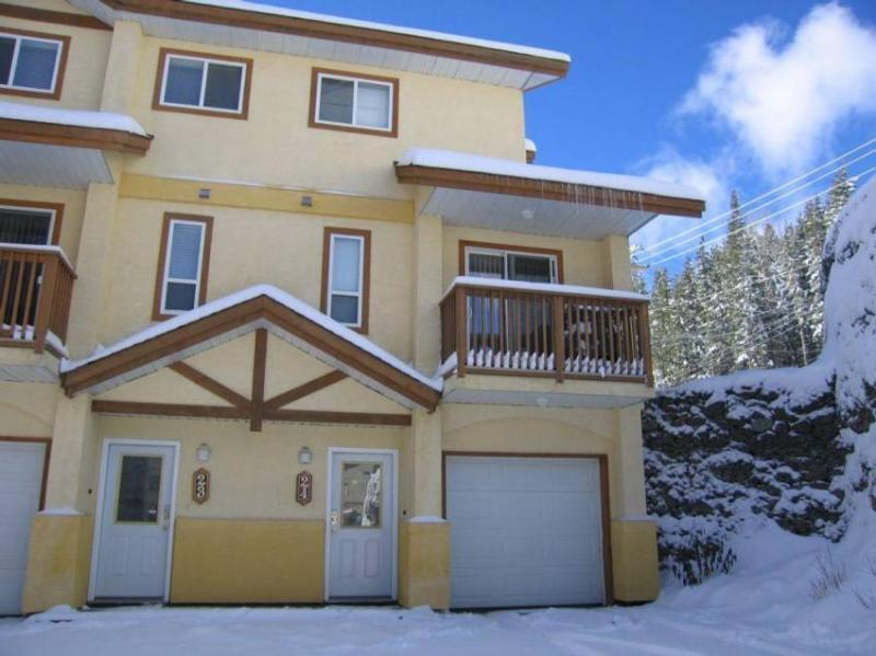 Front View of Our Townhouse - Sun Peaks Getaway - Sun Peaks - rentals