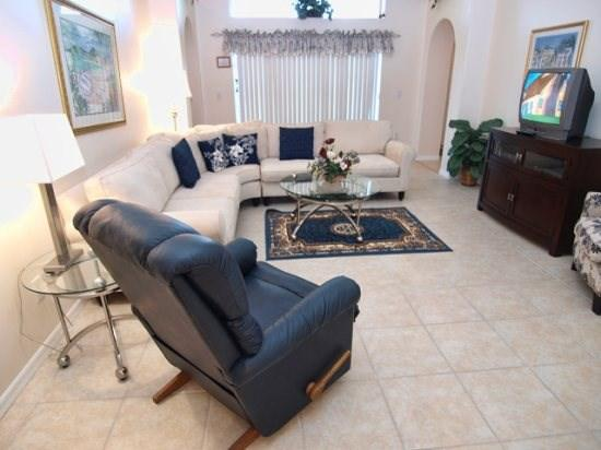 Family Room - IC4P8068SD 4 BR Best Deal Pool Home Close To Disney - Orlando - rentals