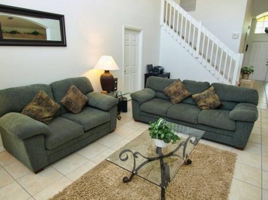 Living Area - SD5P1708CC 5 Bedroom Pool Home with Amenities Galore - Orlando - rentals