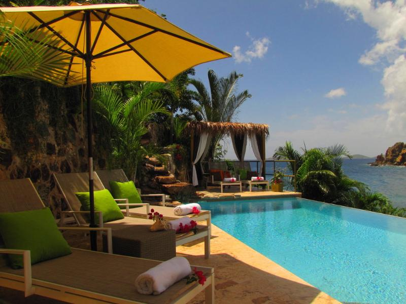 view to the southeast from pool - Lime in de Coconut Resort Villa- Feb 20-27 special - Saint John - rentals
