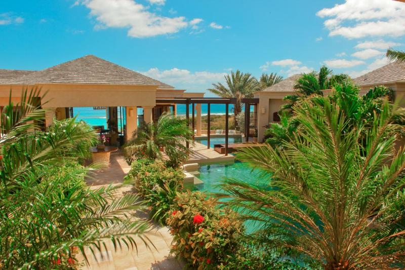 One of two lagoon-style pools. - Bird of Paradise Beach Villa - Anguilla - rentals