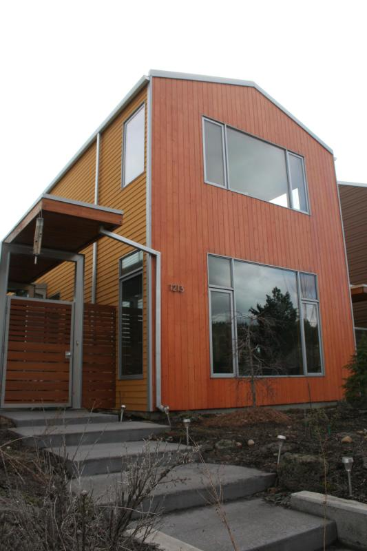 Front of the house, windows for natural light - Downtown Westside Luxury House w/ Solar Panels - Bend - rentals
