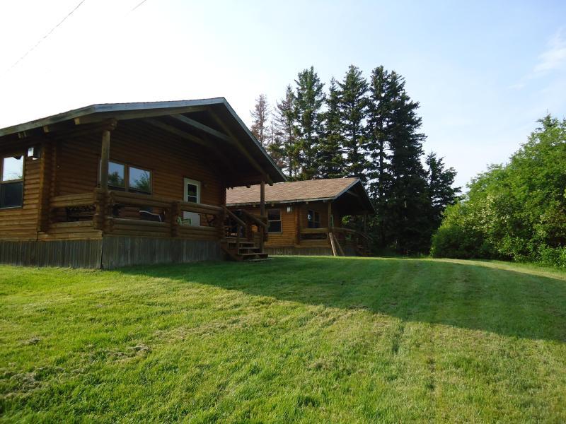 Double Cottages - Cajun Cedar Log Cottages - Margaree Forks - rentals
