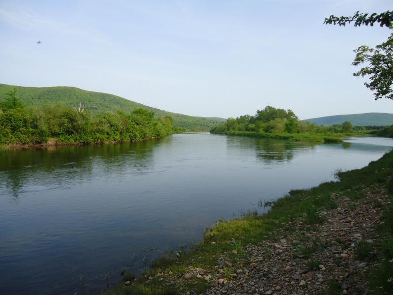 Margaree River (across the street from the cottages) - Double Room Cottage - Margaree Forks - rentals