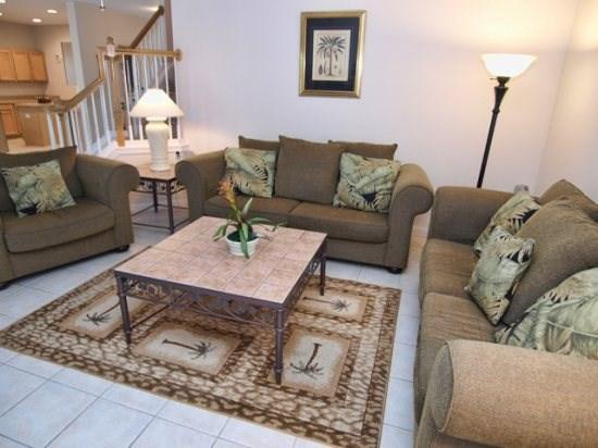 Living Area 2 - HR5P344BD 5 BR Dream Home in Golf community with 2 Master Suites - Davenport - rentals