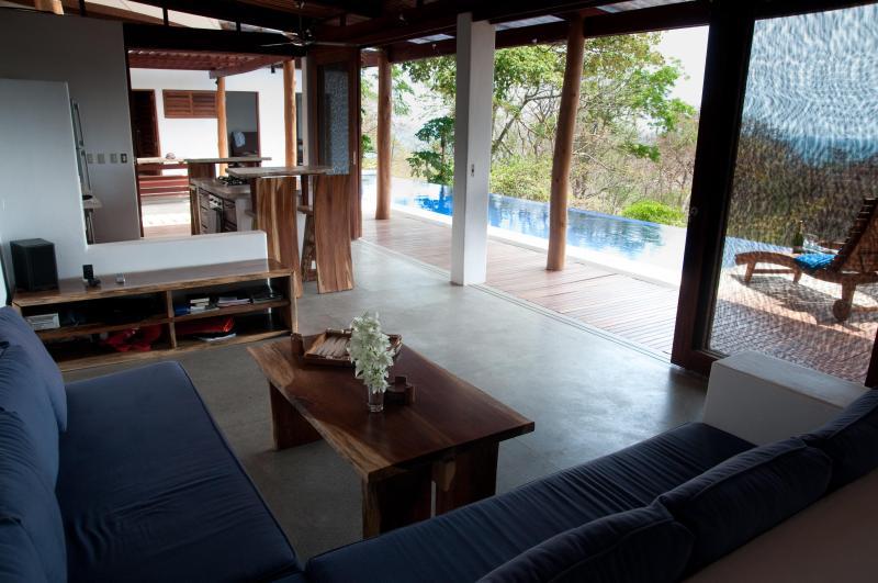 Air flows freely though this open space - Casa Francesca- Relax, Romance, Recharge - San Juan del Sur - rentals