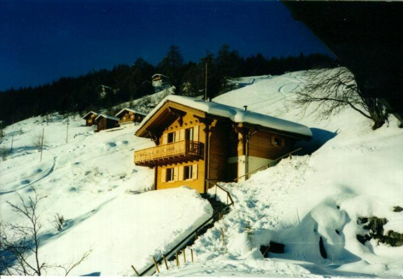 Chalet Salomon with direct slope access to vast 4 Vallees Ski area - Ski-in-Ski-out Chalet 4 VALLEES -spectacular views - Valais - rentals