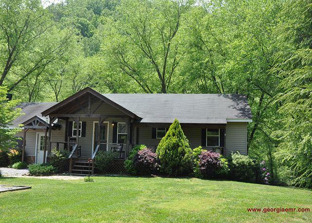 Toccoa Fish Trap - Toccoa Fish Trap- A fisherman`s dream cabin! - Mineral Bluff - rentals