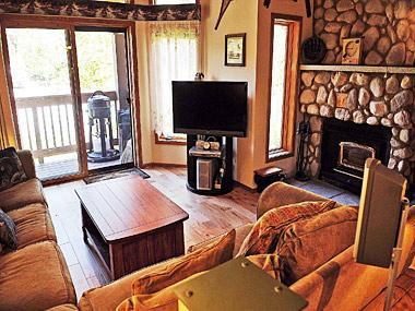 Living Room - Snowcreek - SC464 - Mammoth Lakes - rentals