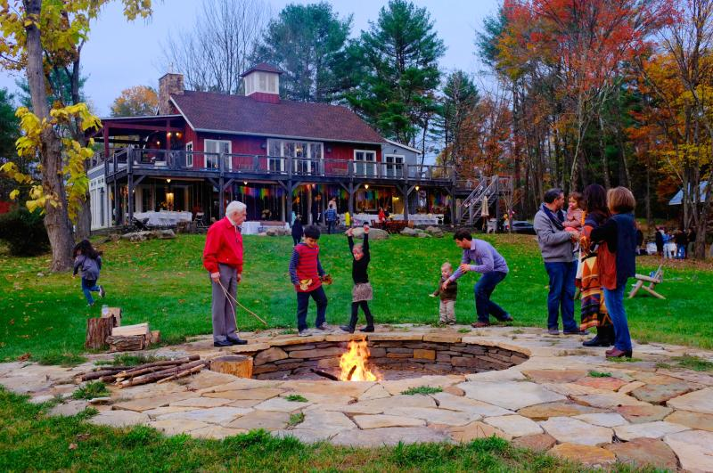 fire pit - Barn on the Pond Saugerties/Woodstock, NY - Saugerties - rentals