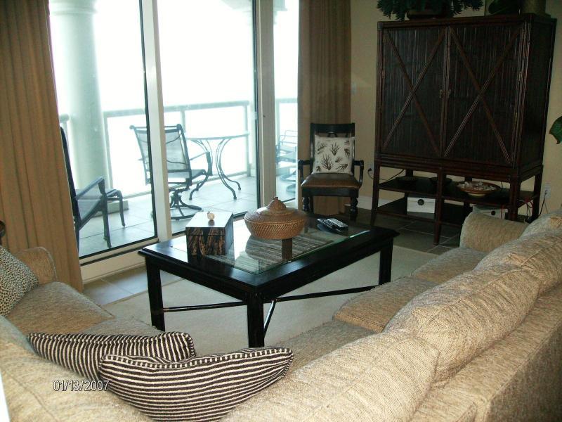 Living Room - Portofino Tower 5 Skyhome 1308 - Pensacola Beach - rentals