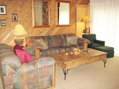 Living Room - Snowcreek - SC236 - Mammoth Lakes - rentals