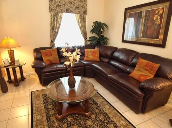 Living Area  - GB7P1939MSD 7 Bedroom Lovely Pool Home with Luxurious Decorations - Orlando - rentals