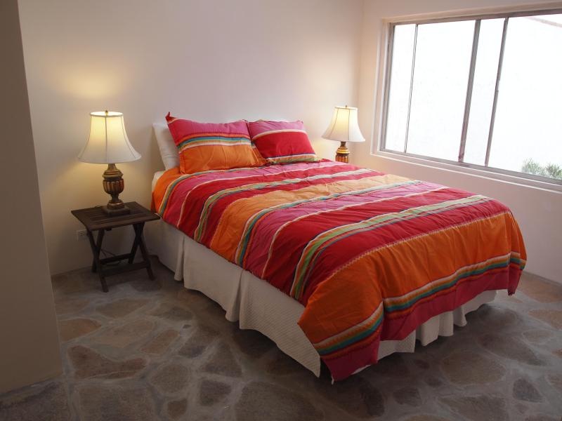 Upper casita bedroom - La Mision, Baja California  Right on the Sand - La Mision - rentals