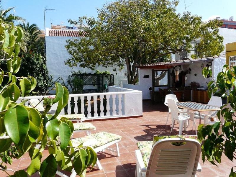sun terrace - Casa Flora Garden Apartment. - El Sauzal - rentals