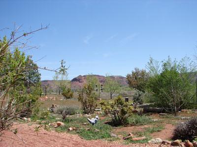 Back Yard - Peace, Privacy & Views. Fee Benefits Charity - Kanab - rentals
