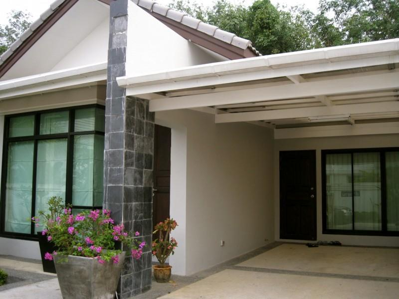 Entrance via under cover carpark - YlangYlang Cottage - 2 Bedrooms Bangtao Beach - Bang Tao Beach - rentals
