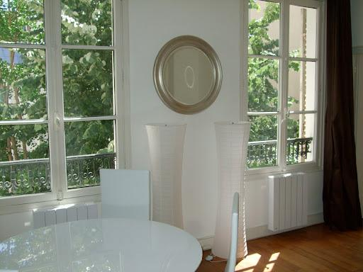 dining room - living room - Chic and Romantic Apartment Rental Near the Eiffel Tower - Paris - rentals