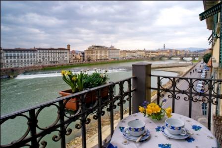 Cestello's Terrace - Lungarno Soderini - Image 1 - Florence - rentals