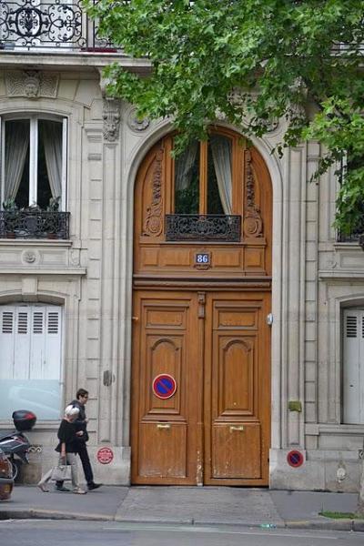 The  Beautiful Exterior of Building - Paris  Beautiful 1BR  Apartment  Champs Elysees, - Paris - rentals