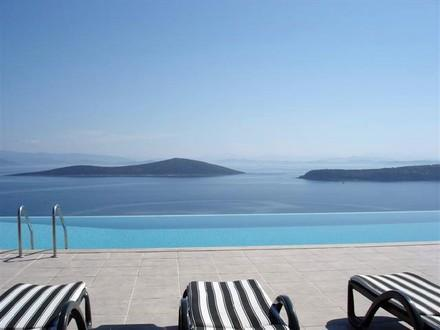 Pool View - Villa Maija - VILLA MAIJA - Exclusive Villa With Wonderful Views - Gundogan - rentals