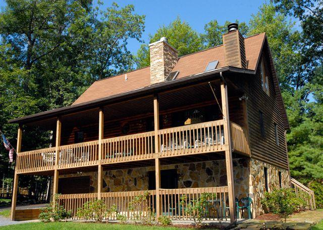 Exterior - Dancing Bear Lodge - Swanton - rentals