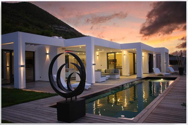 Pearl...Mont Vernon Plantation, St. Martin - PEARL...WOW! Drop dead gorgeous new contemporary villa near Orient Bay - Orient Bay - rentals