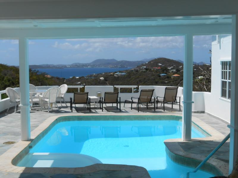 Pool with a View! - Romantic and Affordable! 1BR Cottage w/Pool & View - Cruz Bay - rentals