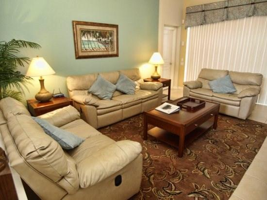 Living Area - WH5P2636AB 5 BR Pool Home Near Famous Attractions - Orlando - rentals