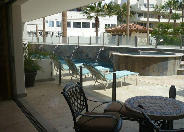 EXTERIOR - Unit 4A ground floor 2 bdrm.2 bath luxury condo centrally located in Cabo - Cabo San Lucas - rentals