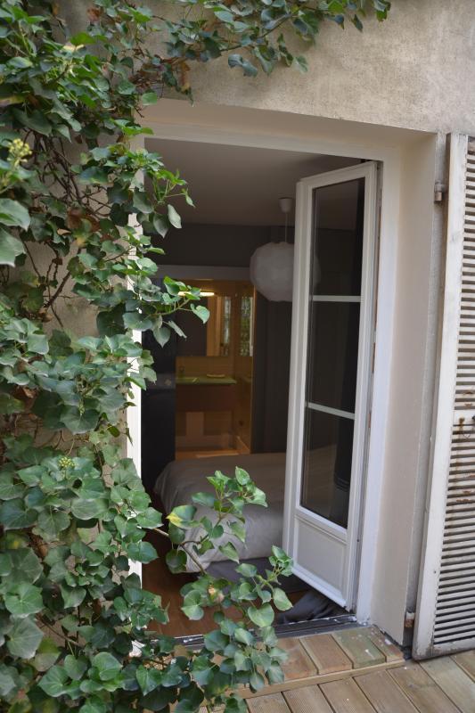 View from terrace - Saint Germain Boutique Apartment 1BR AC Sleeps 4 - Paris - rentals