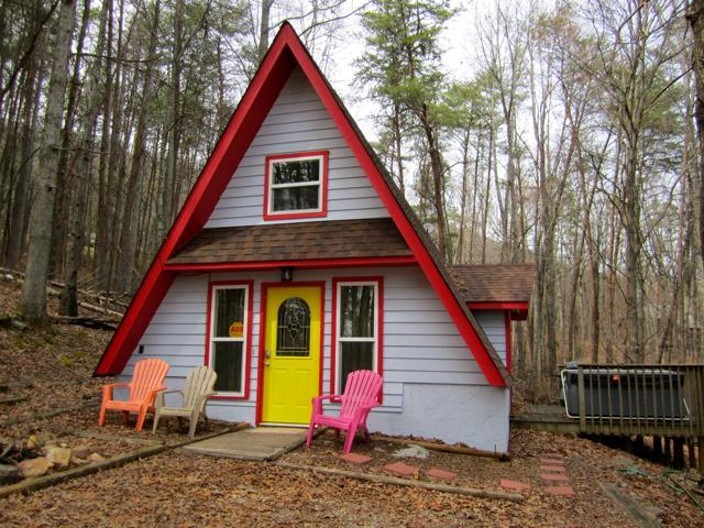 in the woods - WINDSONG CHALET  1/2 way up LOOKOUT MTN /  QUIET - Chattanooga - rentals