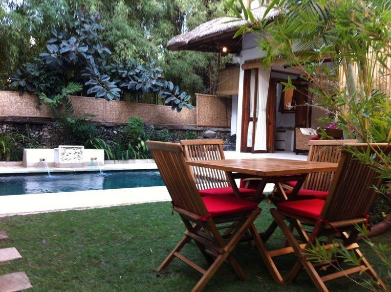 Charming Balinese Thatched Pool Villa - Jimbaran Beach Residence, private pool - BEACH 50m - Jimbaran - rentals