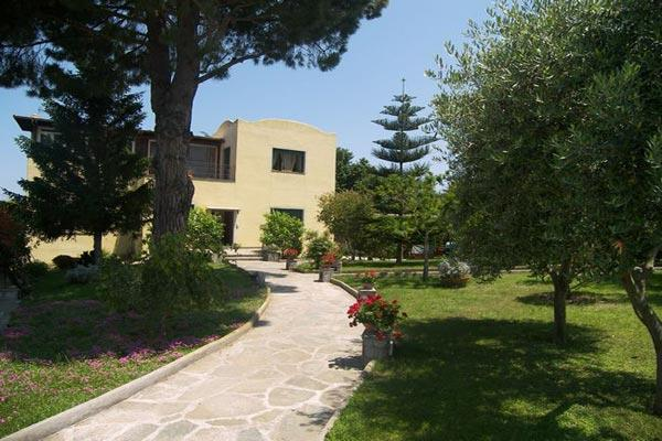 A 5 minute walk form Anacapri town center, this villa keeps with traditional Capri style. LDG AFR - Image 1 - Amalfi Coast - rentals