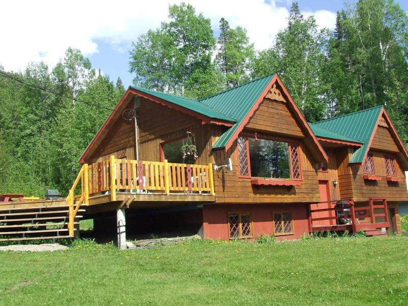 Front of the Chalet - Birch Grove Chalet near Mount Robson BC - Valemount - rentals